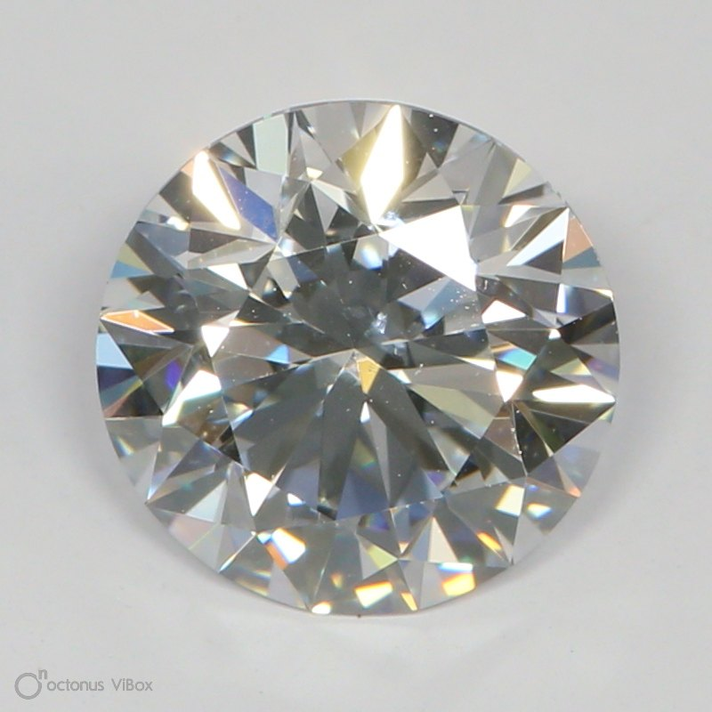 1.46 Carat D-SI1 Ideal Round Diamond