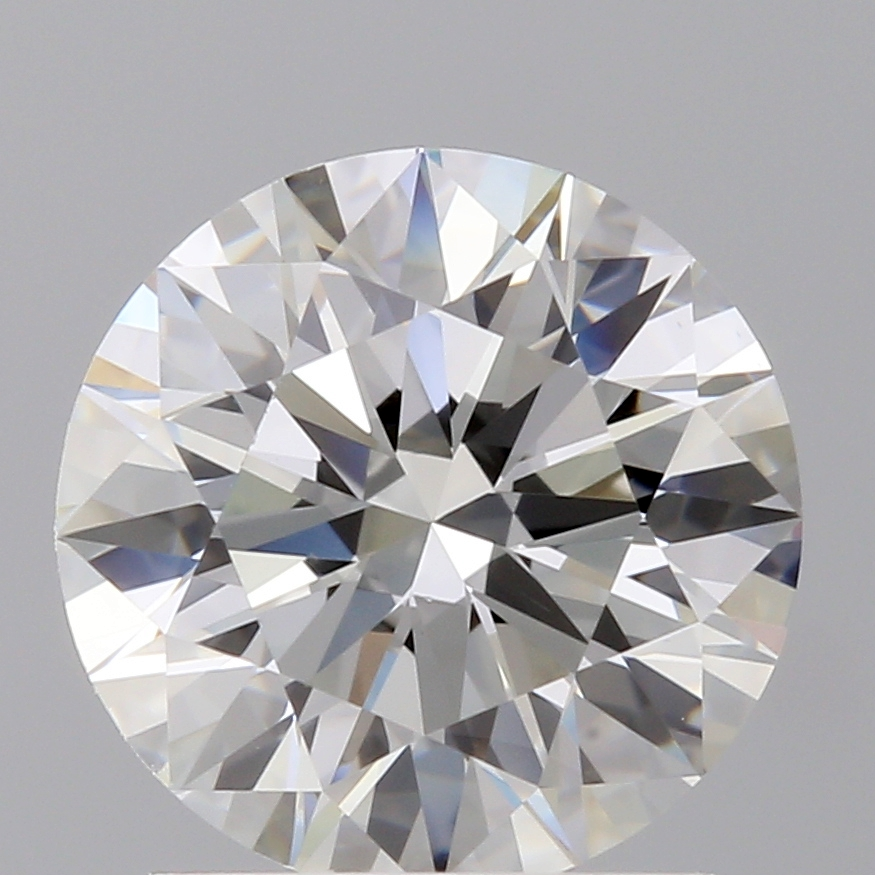 1.37 Carat I-VVS1 Ideal Round Diamond