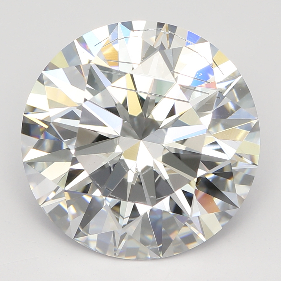 3.64 Carat D-SI2 Ideal Round Diamond