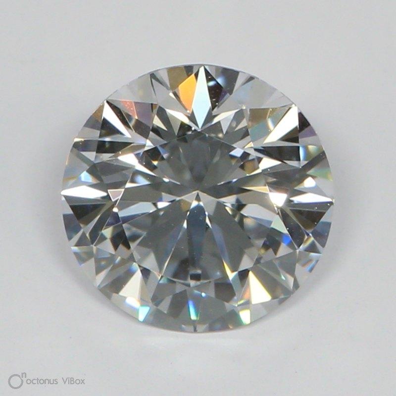 1.14 Carat E-VVS2 Ideal Round Diamond