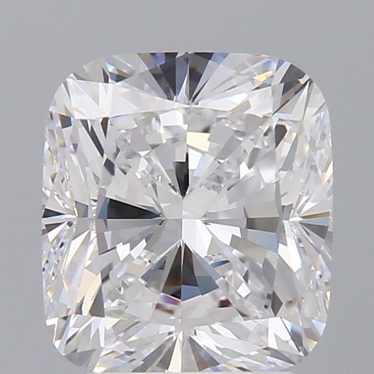 3.06 Carat D-VVS1 Ideal Cushion Diamond