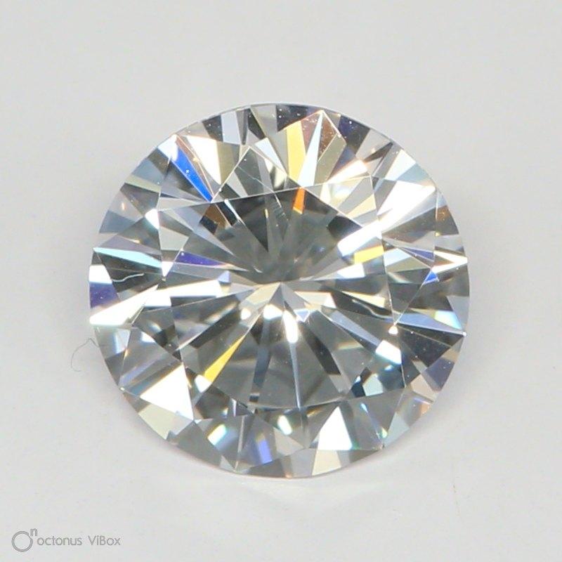 1.04 Carat E-SI1 Excellent Round Diamond