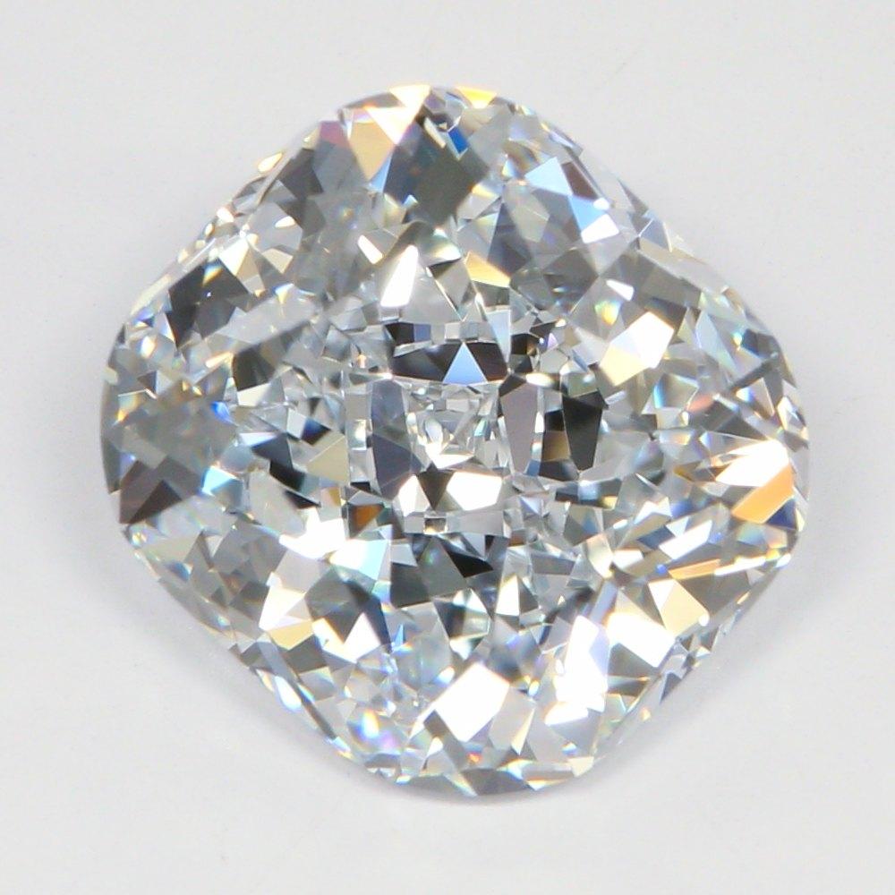 3.28 Carat H-VVS1 Ideal Cushion Diamond