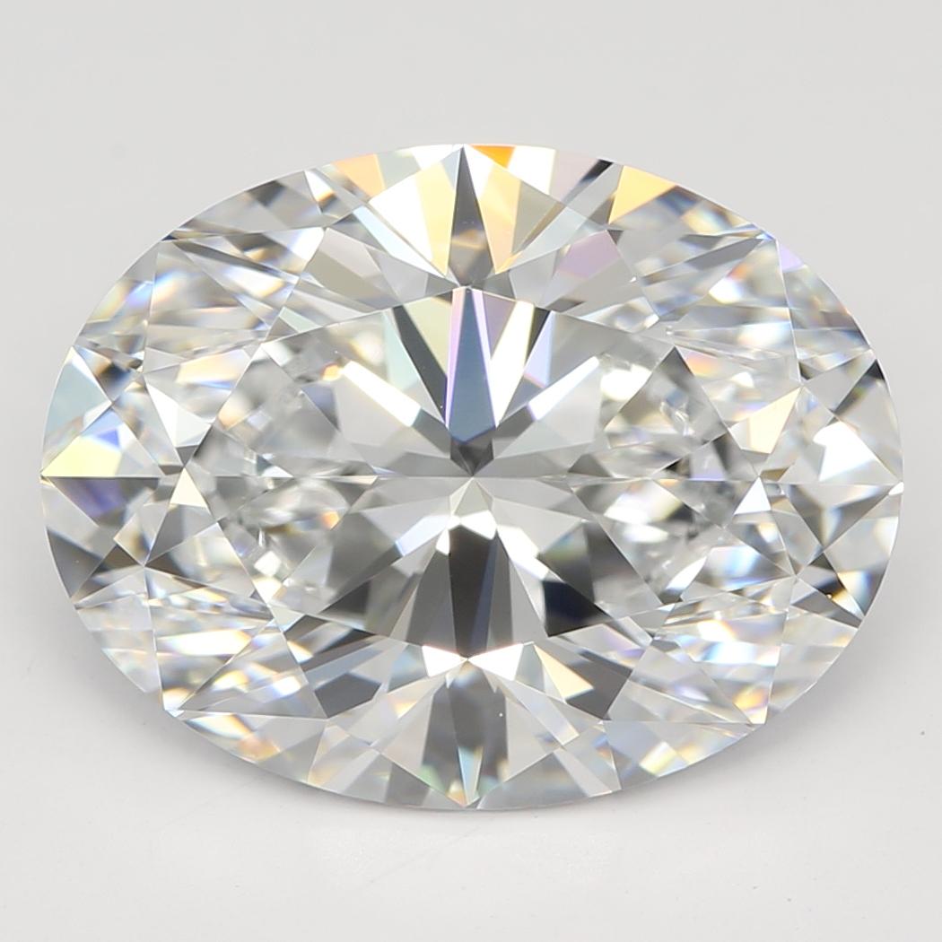 4.02 Carat E-VVS2 Ideal Oval Diamond