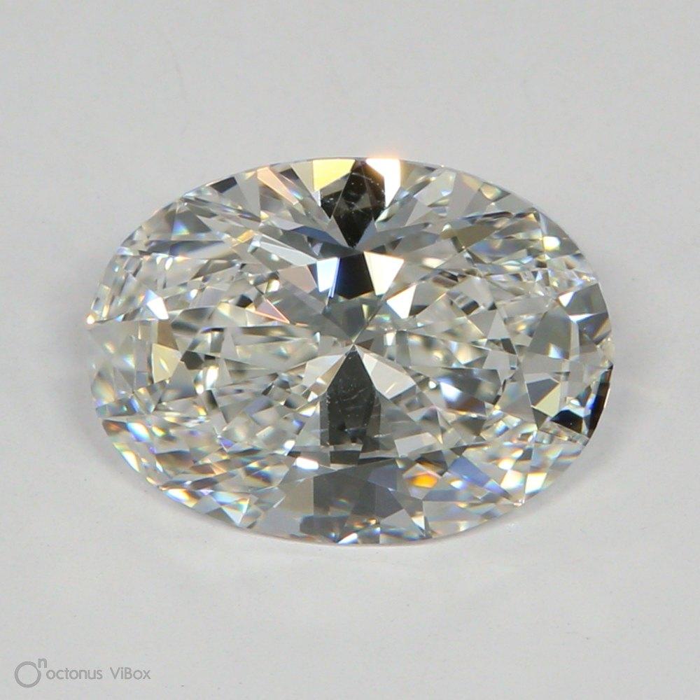 1.75 Carat F-VS2 Excellent Oval Diamond