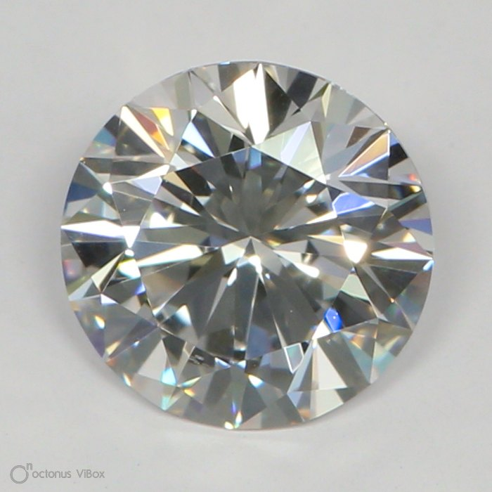1.04 Carat F-VS2 Excellent Round Diamond