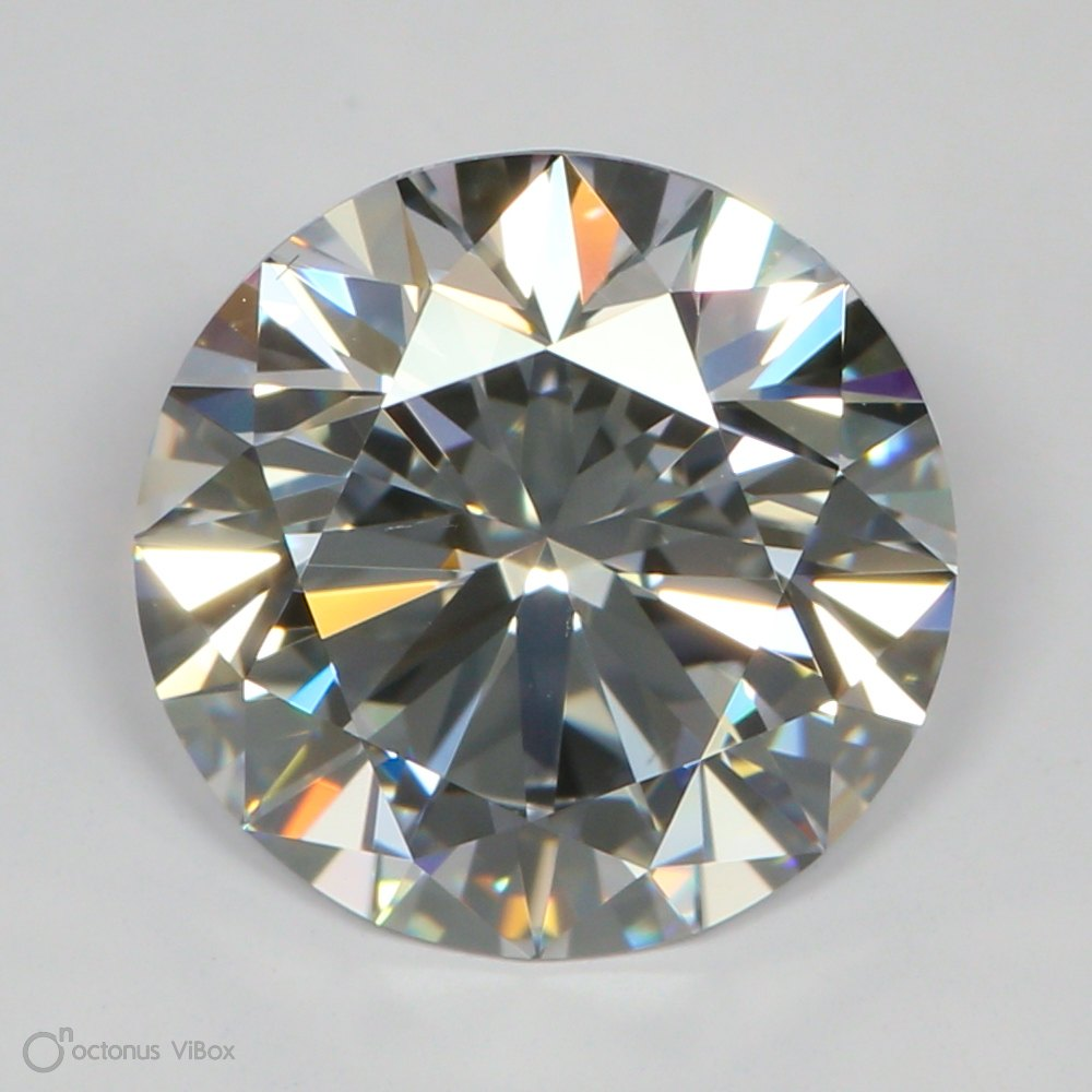 Round Cut 2.92 Carat E Color Vs1 Clarity Sku Lg22637957