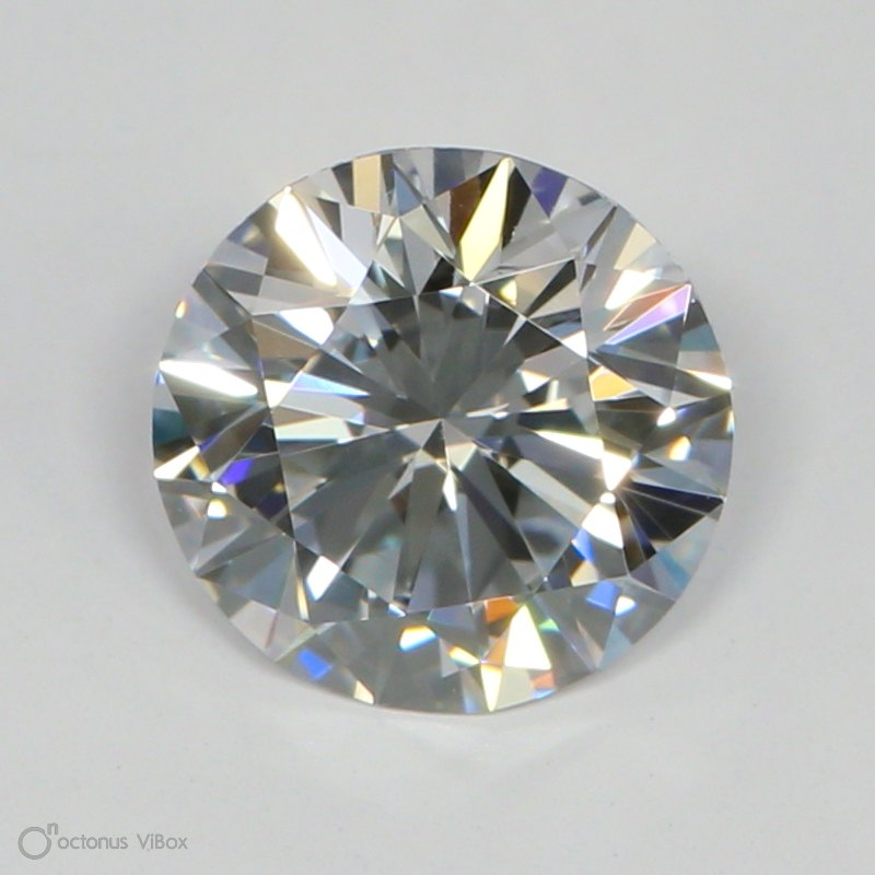 1.02 Carat D-VS2 Ideal Round Diamond