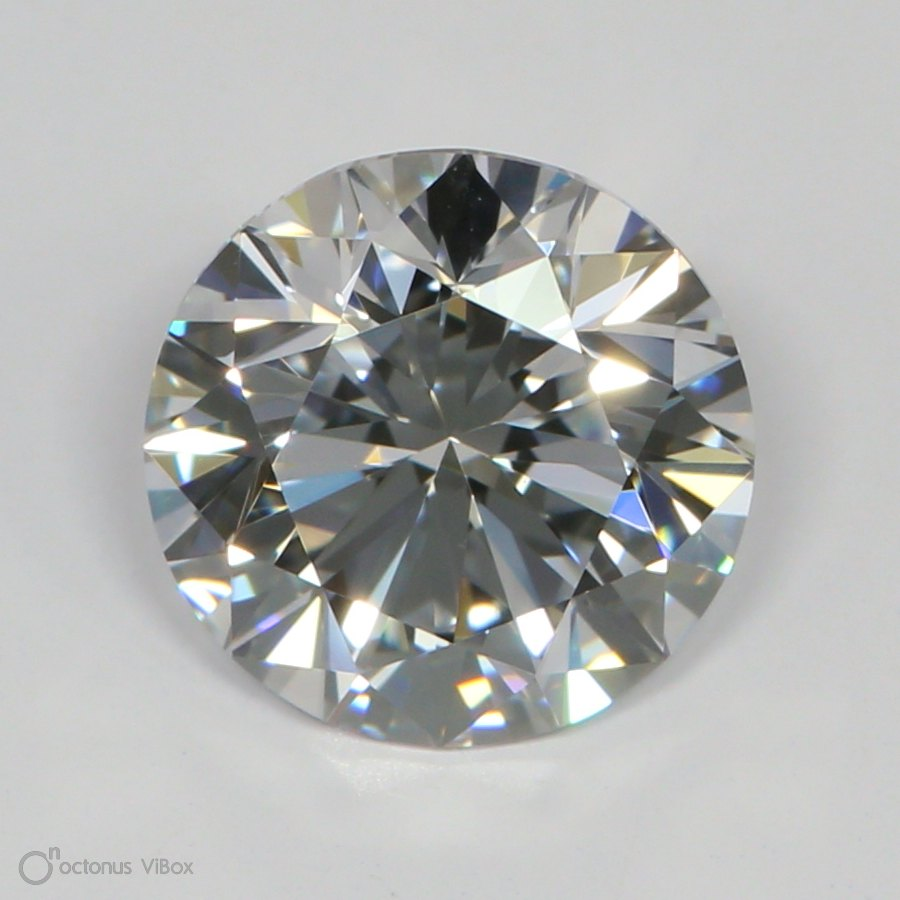 1.68 Carat E-VVS2 Very Good Round Diamond