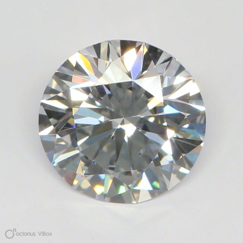 1.13 Carat F-SI1 Excellent Round Diamond