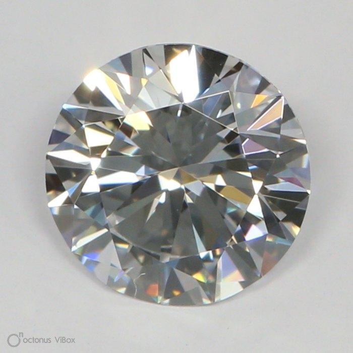 0.96 Carat D-VVS2 Excellent Round Diamond