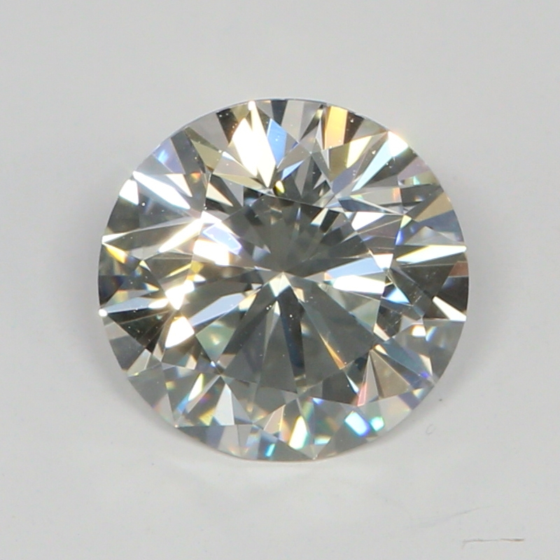 1.02 Carat I-VS2 Very Good Round Diamond