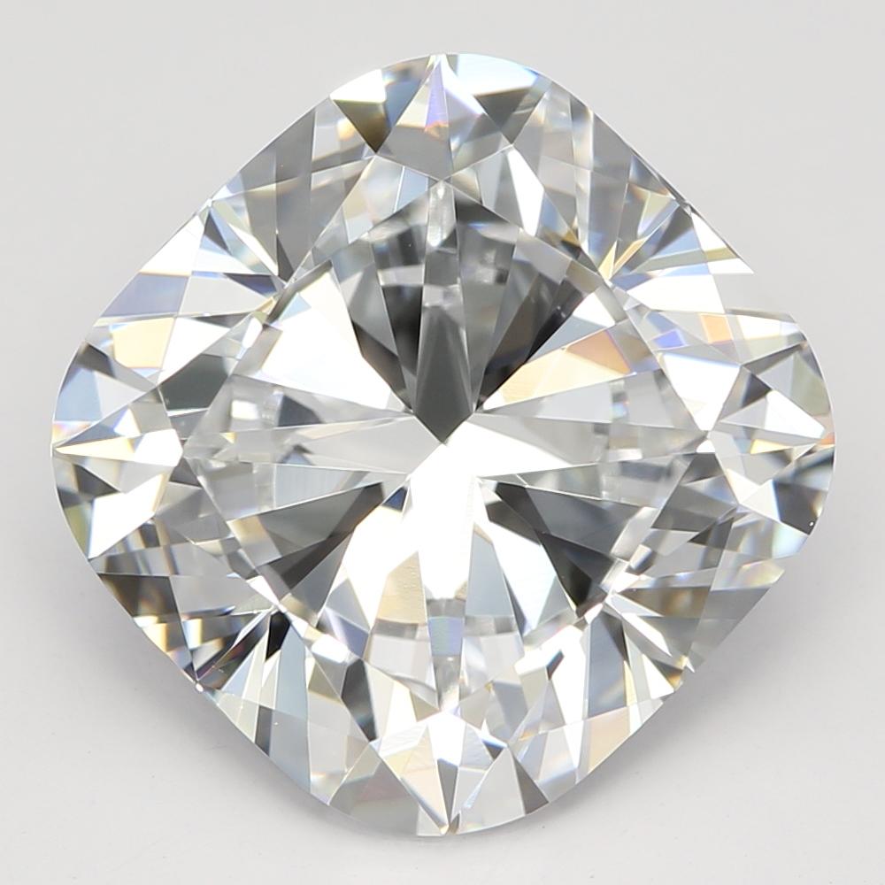 4.02 Carat E-VVS1 Ideal Cushion Diamond