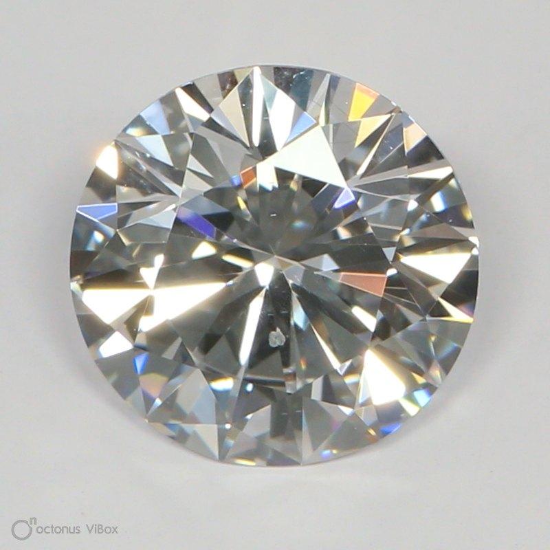 1.38 Carat D-SI1 Excellent Round Diamond